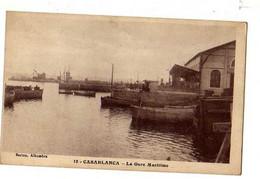 CASABLANCA Gare Maritime - Casablanca