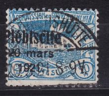 Ober-Schlesien Plebiscite Marke Michel 32 Gestempelt Geprüft - Sectores De Coordinación