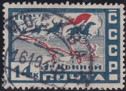 Russland     ,    Michel    .    388 X      .     O    .        Gebraucht  .    /   .    Cancelled - Usados