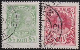Russland     ,    Michel    .    315/316       .     O    .        Gebraucht  .    /   .    Cancelled - Gebraucht