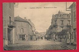 AB422 12 AVEYRON  CAPDENAC BOULEVARD DE LA GARE EN 1905 - Andere Gemeenten