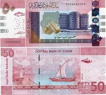 SUDAN       50 Sudanese Pounds       P-New       4.2018      UNC - Sudan