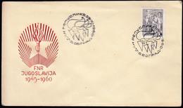 Yugoslavia Serbia Belgrade 1960 / Republic Day / Dan Republike - Covers & Documents