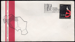 Yugoslavia Croatia Zagreb 1969 / Congress Of The League Of Communists Of Yugoslavia, Belgrade / SKJ - Covers & Documents