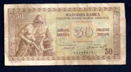 Banconota Jugoslavia 50 Dinari  1946 (circolata) - Jugoslawien