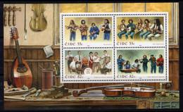 Ireland 2008 Irish Music II MS, MNH, SG 1923 - Nuevos