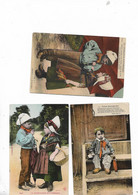 3 Cartes Postal La Normandie Pittoresque - Basse-Normandie