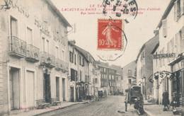 81 - Tarn - LACAUNE LES BAINS  Rue Saint Gervais - Grand Hôtel Moutou - Attelage Charette - Otros Municipios