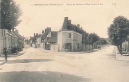 18 - Cher - MEHUN Sur YEVRE - Route De Vierzon Et Rue Jeanne D'Arc - Mehun-sur-Yèvre