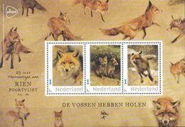 Nederland - Rien Poortvliet - Velletje - De Vossen Hebben Holen - Vos/Fuchs/Renard/fox - MNH - Private Stamps