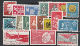 DDR  Xx  1959   N.18  Valori Vari  -  Postfrisch  -   Vedi  Foto ! - Ungebraucht