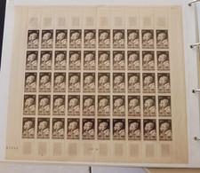 France - 1949 - N°Yv. 845 - Arago Et Ampère - Feuille Complète - Neuf Luxe ** / MNH - Ganze Bögen
