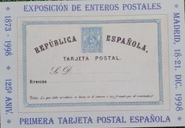 Tarjeta Del Correo España #54.-(28-1) (A) EXPOSICIÓN DE ENTEROS POSTALES EN MADRID 1998 - Varietà E Curiosità