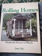 ROLLING HOMES,JANE LIDZ,HANDMADE HOUSES ON WHEELS,A&W VISUAL LIBRARY NEW YORK, 1979 - Fotografia