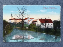 SMIHEL PRI NOVEM MESTU SLOVENIJA SLOVENIA St.Michael Bei Rudolfswert Old Postcards 1910/20`s (S2) - Slovenia