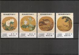 Taiwan -Formose ( 1079/1082 XXX -MNH) - Ungebraucht
