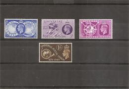 Grande-Bretagne - UPU ( 246/249 XXX -MNH) - Unused Stamps