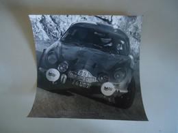Photo De Presse - ALPINE RENAULT A110 # 89 - RALLYE MONTE CARLO 1968 - JEAN VINATIER - Cars