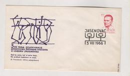YUGOSLAVIA JASENOVAC 1966 Nice Cover - Covers & Documents
