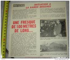 PUBLICITE TINTIN HERGE INITIATION A LA BANDE DESSINEE WOLUWE SAINT PIERRE USINE DROGENBOS - Collezioni