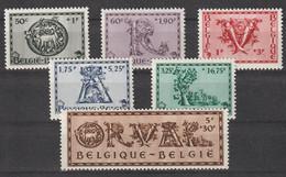 Belgie 1943 Nr 625/30 **, Zeer Mooi Lot Krt 4405 - Collections (without Album)