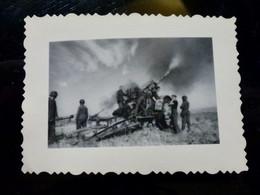 GERMAN Photo WW2 WWII ARCHIVE : WEHRMACHT Av Canon PaK - Guerra, Militares
