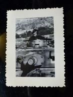 GERMAN Photo WW2 WWII ARCHIVE : TANKISTE Sur Char PANZER IV - Guerra, Militares