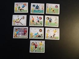 K45414-  Set MNh Fujeira 1974 - Worldcup Football Munich - 1974 – West-Duitsland