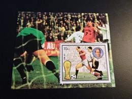 K45435-  Bloc  MNh Fujeira 1974 - Worldcup Football Munich - 1974 – West-Duitsland