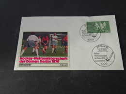 FC2740 -  FDC Germany - Hockey - Weltmeisterschaft Der Damen Berlin 1976 - Rasenhockey