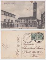 Viterbo - Palazzo Comunale, Viaggiata 1918 - Viterbo