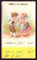 1876 Cartão Bilhete THEATRO Do GYMNASIO. Verso Com Publicidade Consultorio Dental LISBOA Rua Do Arsenal PORTUGAL - Sonstige