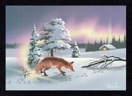 FINLAND 2002 Fire-Fox/PA-10 Labels: Postcard MINT/UNUSED - Enteros Postales