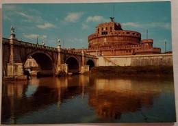 Roma - Castel Sant'amgelo - 88 - Formato Grande Viaggiata – E 17 - Castel Sant'Angelo