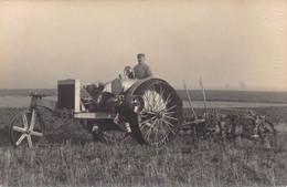 10 - AUBE -  NOGENT SUR SEINE - Carte Photo -tracteur - Agriculture -  - Superbe - (A012 - Nogent-sur-Seine
