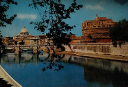 Roma - Castel Sant'angelo E Piazza S.pietro - 1130 - Formato Grande Non Viaggiata – E 17 - Castel Sant'Angelo