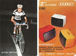 CARTE CYCLISME ETTORE CASTOLDI TEAM GBC 1972 ( FORMAT 10 X 15 ) - Ciclismo