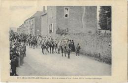 RUILLE Le GRAVELIN: Fête De Jeanne D'Arc - 6 Juin 1913 - Cortège Historique - Other Municipalities