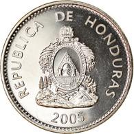 Monnaie, Honduras, 50 Centavos, 2005, SPL, Nickel Plated Steel, KM:84a.2 - Honduras