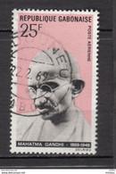Gabon, Mahatma Gandhi, Airmail - Mahatma Gandhi