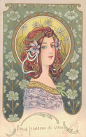 J126 - Illustrateur - Femme Art Nouveau - 1900-1949