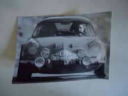 Photo De Presse - ALPINE RENAULT A110 # 83 - RALLYE MONTE CARLO 1968 - JEAN-CLAUDE ANDRUET - Cars