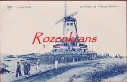 """Koksijde - Coxyde-Bains - Le Moulin Du """"Hooge Blekker"""" Windmolen Moulin A Vent Windmill (In Goede Staat) - Koksijde"""