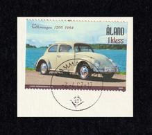 ÅLAND 2005 Vintage Cars/Volkswagen 1200: Single Stamp USED ON PIECE - Aland