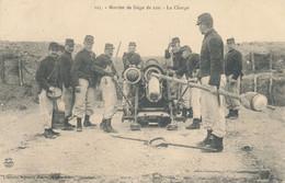 Militaria - Guerre 1914-1918 - Mortier De Siège De 220 - La Charge - - Materiaal