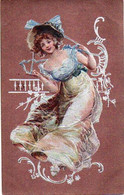 Femme Illustrée 523 Mode Gaufré - 1900-1949