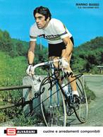 PHOTO CYCLISME RENFORCÉE DE HAUTE CALITE MARINO BASSO 1972 FORMAT 18 X 24 - Radsport