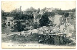 61000 Environs D'ALENÇON - Carrières De Pierre De Beauséjour - Dos Simple, Neuve - Alencon