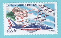 2008, YT No. PA 71, La Patrouille De France, MNH - 1960-.... Mint/hinged