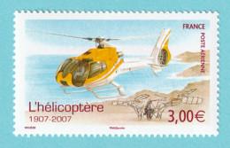 2007, YT No. PA 70, Centenaire De L'helicoptere, EC 130, MNH - 1960-.... Mint/hinged